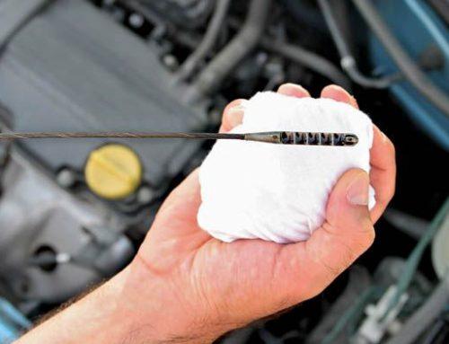 Έλεγχος στάθμης λιπαντικού κινητήρα