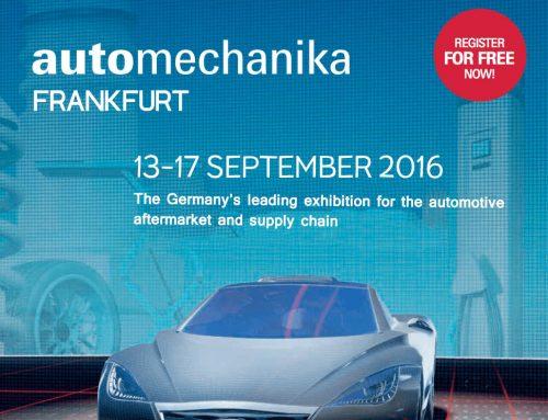ΤΕΝΤΟΓΛΟΥ Lubricants – Automechanika Φρανκφούρτη 2016